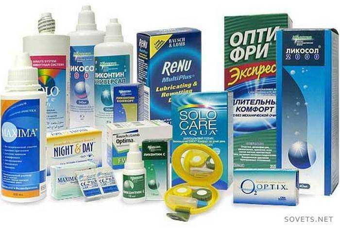 Жидкость для контактных линз состав
