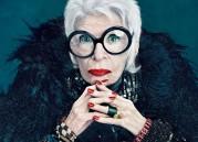 В рекламе солнцезащитных очков снялась 94-летняя Айрис Апфель.